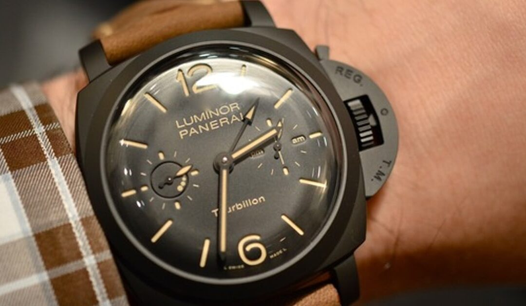 Hands-On With The Awesome Panerai Luminor Tourbillon GMT Ceramica (PAM 396) – Live Pics