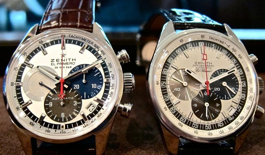Historical Perspectives Comparing Classic Chronographs: Zenith's Something Old vs. Something New