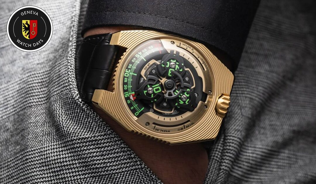 Introducing The UR-100 Electrum By URWERK Is Anything But Static (Live Photos)