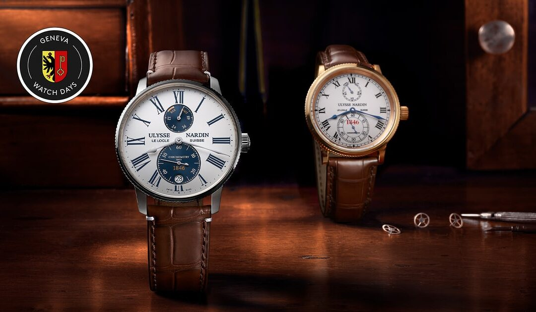 Introducing Ulysse Nardin Uses A Panda Dial For The First Time In New Marine Torpilleur Limited Edition
