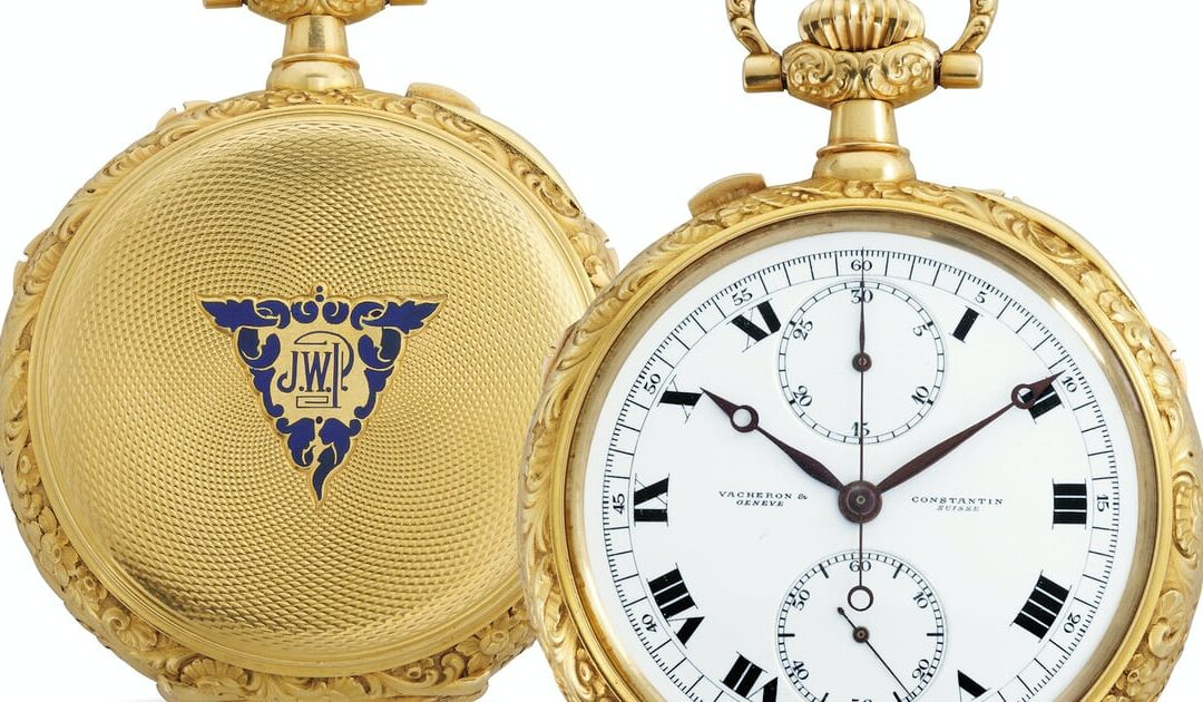 SOLD: A Unique Vacheron Constantin and Unique Patek Philippe from the Epic Collection of James Ward Packard