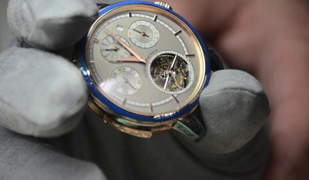 VIDEO: The Vacheron Constantin Patrimony Traditionnelle Grande Complication Boutique NYC In Action